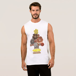 De Boom van Steampunk Geen Bovenkant Vest van het T Shirt