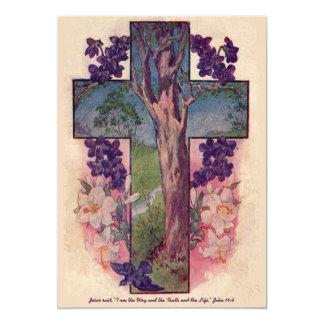 De boom van Uitnodiging van Pasen van het Leven de