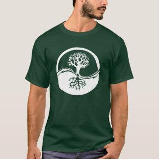 De Boom van Yang van Yin van het Leven T Shirt