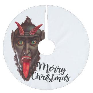 de boomrok van krampus vrolijke Kerstmis Kerstboom Rok
