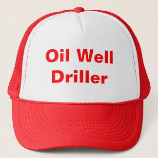 De Boor van de oliebron Trucker Pet