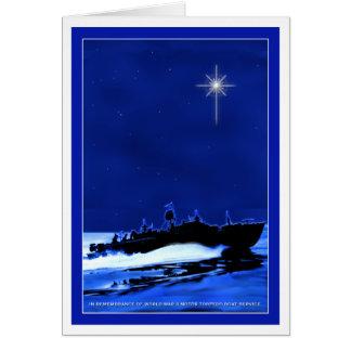 De Boot ChristmasCard 1 van PT Wenskaart