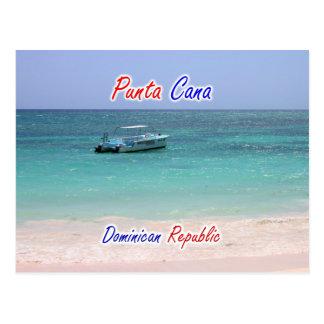 De Boot van Cana van Punta Briefkaart
