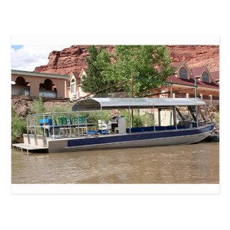 De boot van de reis, Moab, Utah, de V.S. Briefkaart