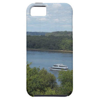 De boot van de Rivier van de Mississippi Tough iPhone 5 Hoesje