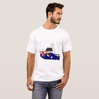 De Boot van de Vlag van Australië T Shirt