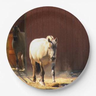 De Borden van het Document van paarden Papieren Bordje