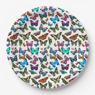 De Borden van het Document van vlinders Galore Papieren Bordjes