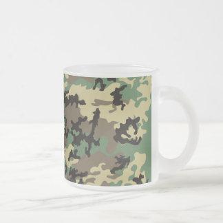 De bos Camo Berijpte Mok van de Koffie