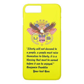 De Bos gele Pruim van de patriottische Vrede iPhone 8/7 Plus Hoesje