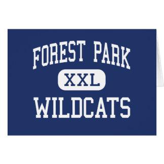 De bos Wilde stakingen MiddenFranklin van het Park Kaart