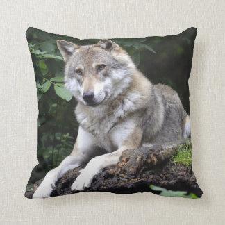 De bos Wolf werpt Hoofdkussen Sierkussen