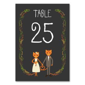De BosUitnodiging van het Huwelijk van Katten
