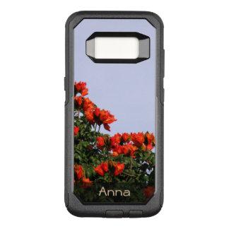 De botanische Afrikaanse Foto van de Boom van de OtterBox Commuter Samsung Galaxy S8 Hoesje