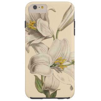 De botanische Lelie bloeit BloemenTuin Tough iPhone 6 Plus Hoesje