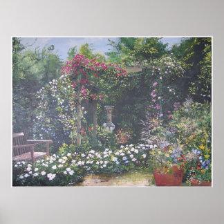 De Botanische Tuinen van Chicago Poster