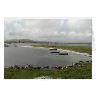 De Boten van het Eiland van Mweenish, de Kaart van