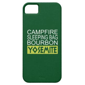 De Bourbon Yosemite van de Slaapzak van het Barely There iPhone 5 Hoesje