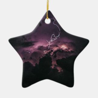 De Bout van de verlichting Keramisch Ster Ornament