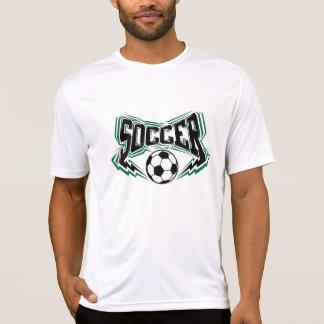 De bouten van de Bliksem van het voetbal T Shirt