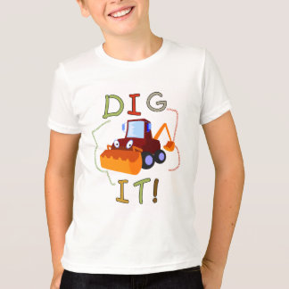 De bouw graaft het T-shirts en Giften