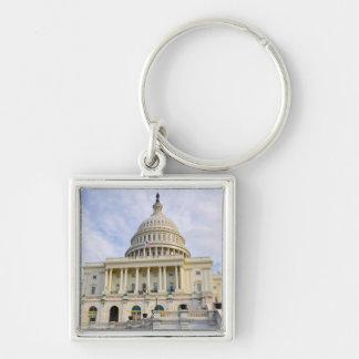 De Bouw van Capitol Hill in Washington DC Sleutelhanger