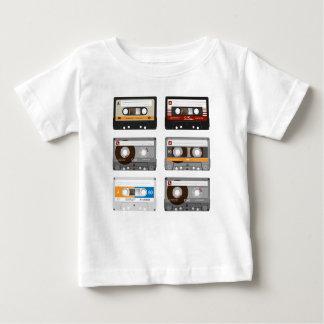 De Bovenkant van de Band van de cassette Baby T Shirts