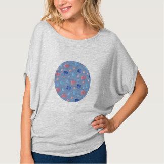 De Bovenkant van de Cirkel van de Chinese Vrouwen T Shirt