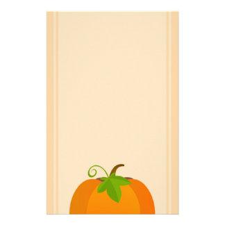 De Bovenkant van de pompoen Briefpapier
