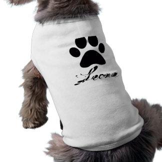 De Bovenkant van de Poot van Leona T-shirt