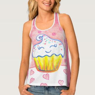 De Bovenkant van gelukkige Vrouwen Cupcake