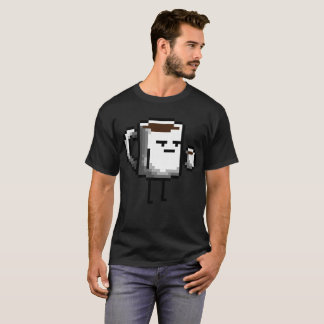 De boze Mok die van de Koffie Koffie drink T Shirt