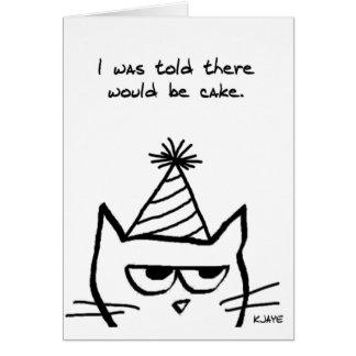 De boze Verjaardagen van de Haat van de Kat - de Briefkaarten 0