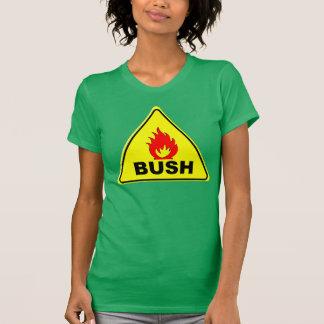 De BRAND BUSH van de voorzichtigheid T Shirt