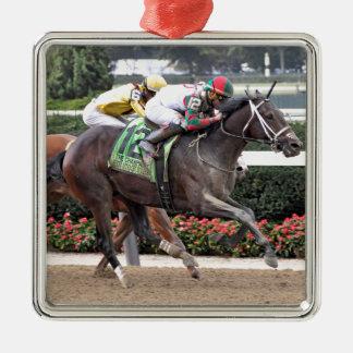 De Brand Irad Ortiz Jr van Florence Zilverkleurig Vierkant Ornament