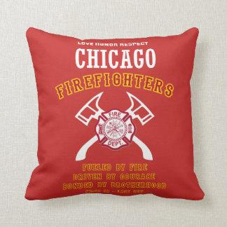 De Brandbestrijders van Chicago beschermen Sierkussen