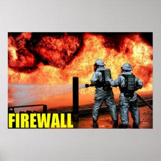 De Brandbestrijders van de Luchtmacht Poster