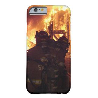 De brandbestrijdings Brand van de Structuur Barely There iPhone 6 Hoesje