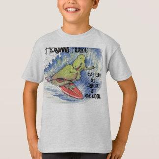De brandingsontwerp van de Buis van Tyranno T Shirt
