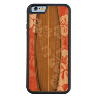 De brandingsraad van PixDezines/kleur hibiscus/DIY Kersen iPhone 6 Bumper Hoesje