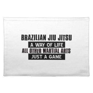 De Braziliaanse Giften van Jiu Jitsu Placemat