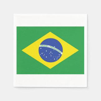 De Braziliaanse Servetten van het Document van de Wegwerp Servetten
