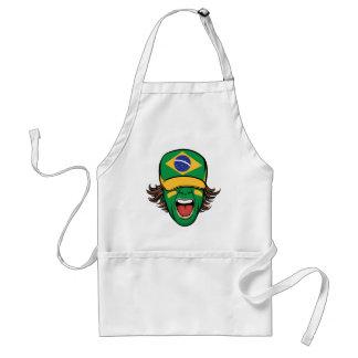 De Braziliaanse Ventilator van Sporten Standaard Schort