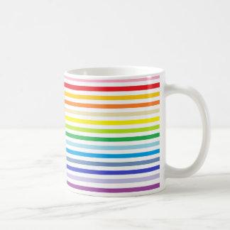 De bredere Regenboog van het Spectrum en Witte Koffiemok