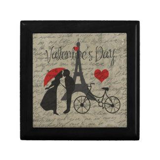De brief van de liefde - Parijs Decoratiedoosje