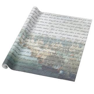 De Brief van de overtuiging Inpakpapier