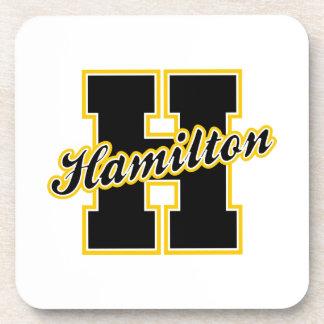 De Brief van Hamilton Onderzetter