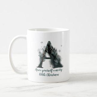 De Brief van Kerstmis een Mok van de Koffie van