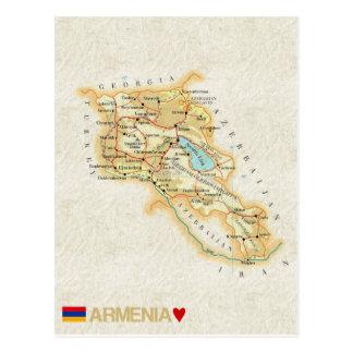 De BRIEFKAARTEN ♥ Armenië van de KAART Briefkaart