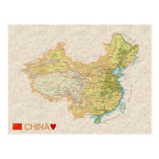 De BRIEFKAARTEN ♥ China van de KAART